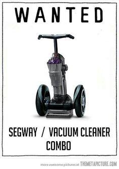 Segway/vacuumcleaner wanted
