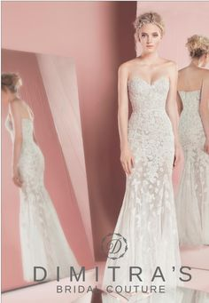 Zuhair Murad Bridal available at Dimitra's Bridal Couture www.DimitrasBridal.com #ZuhairMurad #Petra #bridalgown #sparkle #lace #romantic #illusuionskirt #sweetheart #scallopedlace #scallopededging #trainless #embroidedlace #beading #sparkle #fitandflare #fittoflare #illusionskirt #weddingdresses #bridal #beautifulbrides #designer #luxury #luxuryweddings