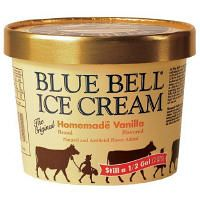 Blue Bell Ice Cream. I love this stuff, but you can only get it in 22 states...lucky for me, Louisiana is one of them!