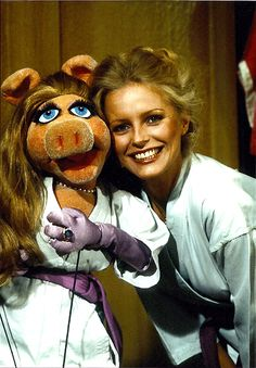 Cheryl Ladd on The Muppet Show. The best of both worlds