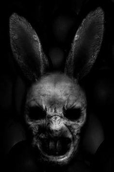 darkestdee:  The Deadster BunnybyEddieTheYeti| ^(OvO)^