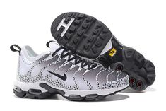 the best attitude 0cfc5 8c4bc Cheap Men s Nike Air Max Plus Tn Ultra Running Shoes Sneakers White Black  881560 431 For Sale . The Nike Tuned Air system consists of two opposing  polymer ...