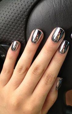 Le+nail+art+chromé+ Plus
