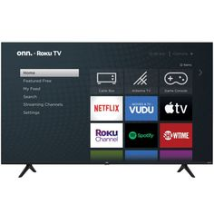 onn. 100021261 65-Inch Roku LED 4K Ultra Smart HDTV $228 + FS @ Walmart