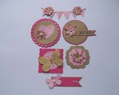 Embellishments for scrapbooking and card making acid free - Wedding scrapbook…