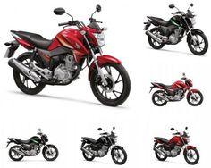 Modelos recebem novidades em seu visual e reforçam o conceito de esportividade e beleza da Honda para o uso cotidiano.