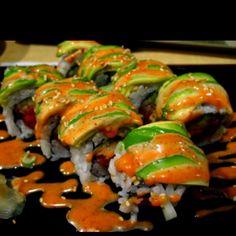 Spicy eel sushi Yess!