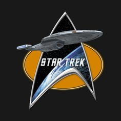 Check out this awesome 'StarTrek+Voyager+Command+Signia+Chest+2' design on @TeePublic!