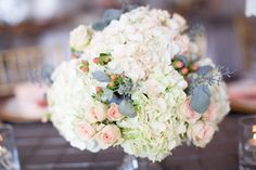I planned on gushing about the gorgeous peach + steel grey combo woven throughout this affair because honestly, it's drop dead gorgeous and such a lovely addition to the backdrop of theHistoric Mankin Mansion. But my words left me the very