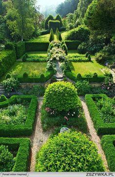 Tradycjonalny ogród