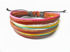 Hey, I found this really awesome Etsy listing at https://www.etsy.com/listing/101168348/jewelry-bangle-leather-bracelet-ropes