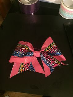 duct tape cheer bow by MARSHA  mytrioandme@gmail.com
