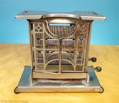 Vintage Antique Art Deco Flip Toaster by northwestvintagepdx, $24.99