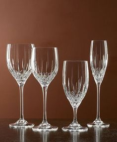 """Want these Vera Wang """"Fidelity"""" Champagne flutes"""