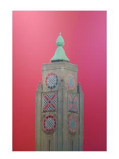 The Oxo Tower - Limited Edition 5 of 25 Artwork Affordable Art Fair, Concrete Design, Pink Sky, Living Room Art, New Media, Online Art Gallery, New Art, Original Artwork, Modern Art