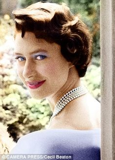 1960: Princess Margaret at 30, the year she married Anthony Armstrong-Jones.