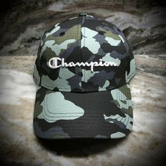 Camo Hats, Curves Workout, New Champion, Camouflage, Blue Green, Baseball Hats, Ebay, Men, Black