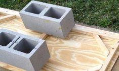 Elle ramasse les blocs de béton bien ordinaires et réalise quelque chose d'extraordinaire pour toute la famille!