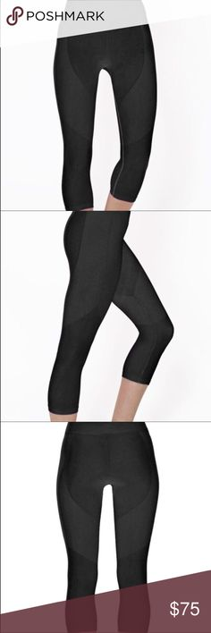 NWT Groove Capri in Black by Electric Yoga NWT 🌸 Groove Capri in Black by Electric Yoga  - cute,  comfy, and flexible!!!  Great style and fit with subtle flare😉. 88%nylon 12% Spandex Electric Yoga Pants Leggings