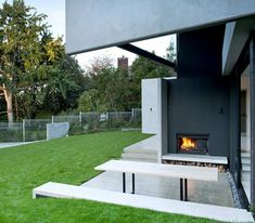 Daniel Marshall Architects house design with precast concrete panels