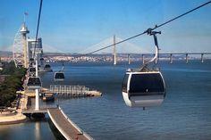 Telecabine Lisboa, Parque das Nações