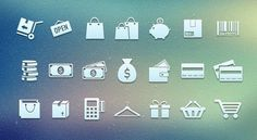 25+ Free E-commerce Icon Sets For App And Website - web resources free