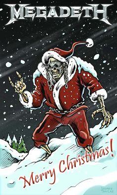 megadeth christmas card contest 2010 yurdigital megadeth