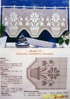 Letras e Artes da Lalá: cortina de crochê