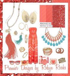 2016 Spring Pantone Color with Premier Designs Jewlery!!!