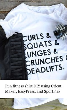 Fun Fitness T-Shirt featuring Fun Fitness, Fitness Tips For Men, Fitness Gifts, Movie Date Outfits, Mom Outfits, Vinyl Shirts, Maker, T Shirt Diy, Workout Shirts