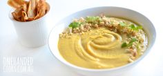 I was so excited to receive myAussie Farmers DirectFood Revolution DayBox filled with fresh, local andseasonal fruit and veggies. It contained the most beautiful looking pumpkin, which quite literally hurled itself at me when the delivery guy fell up the stairs. So I went with it and created this creamy, pumpkin and cashew nut soup. …