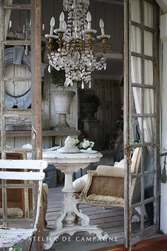French decor dining