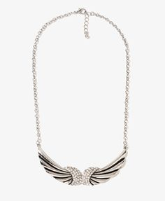 Wing Chain Necklace | FOREVER21 - $5.80