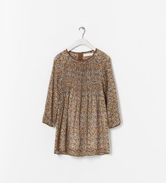 ZARA - KIDS - PRINTED DRESS