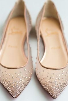 cc607fa9088a Cutest Flat Wedding Shoes for the Love of Comfort and Style ...