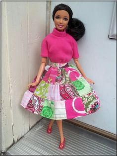 Hey, I found this really awesome Etsy listing at https://www.etsy.com/listing/156799380/barbie-clothes-boutique-style-patchwork