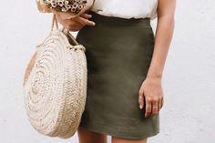 A Pair & A Spare   Make This DIY A-line Skirt