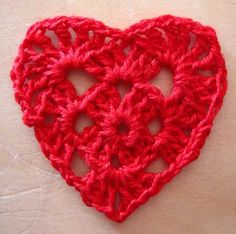 Lacy heart crochet pattern-o.k., this is way out of hand, all because I can't find the original heart I wanted to pin.