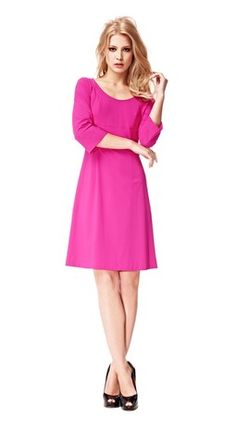 . Shades Of Purple, Hosiery, Dresses Online, Dresses For Work, Style Inspiration, Stylish, Lady, My Style, Pink