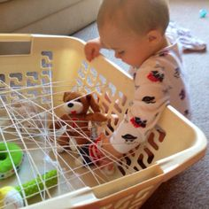 Spider's Web Discovery Basket | The Train Driver's Wife