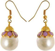 Waama Jewels Wedding jewellery Women Gift Girl in Party Brass Dangle Earring
