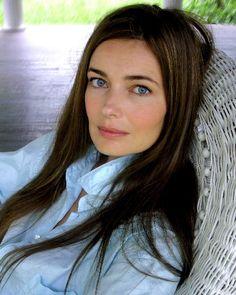 Paulina Porizkova - this is what she really looks like - beautiful.