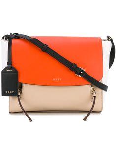 9b16255587c DKNY colour block crossbody bag.  dkny  bags  shoulder bags  leather   crossbody  cotton