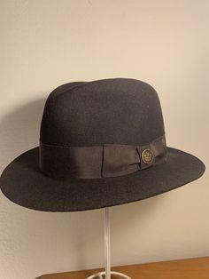 Goorin Brothers Dark Brown Fedora (Mr. Banks) Medium M Heritage USA Made NWT 9a743250322b
