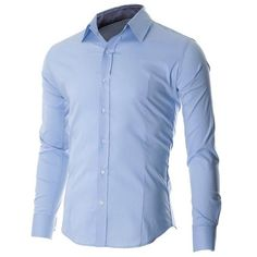 FLATSEVEN Men's Casual Button Down Shirt: Amazon.co.uk: Clothing (29,455 KRW)…