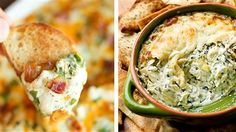Artichoke, spinach and combos of the two — take your pick from 5 delicious dips! - TODAY.com