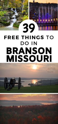 Oh wow! These are really going to save my budget on my next trip! 39 free things to do in Branson Missouri! This place is perfect for a family vacation with kids.   #OurRoamingHearts #BransonMissouri #Branson Branson Vacation | Branson Missouri Things to do | Branson Missouri Kids