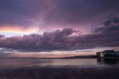 The beginning of 2015 summer gave us many rainy days the previous weeks. The set was almost ideal for photographers in town.This one was taken in Thessaloniki's Kalamaria area. Purple Rain, Ants, Clouds, Celestial, Explore, Sunset, Outdoor, Outdoors, Ant