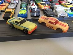 Ideal TCR MK1 glow Dodge Magnum with Chevelle body stock cars #Ideal