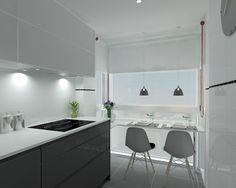 Proyecto en Madrid de Cocina Santos modelo Intra y encimera de Silestone